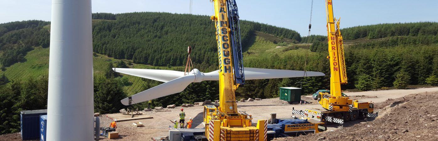 <p>van de Glind techniek windturbine installation</p>
