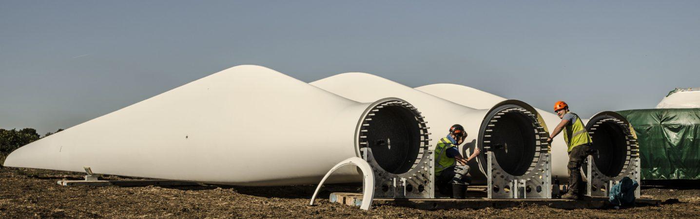 <p>van de Glind techniek windturbine bladen</p>
